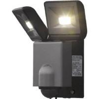デルカテック LEDセンサーライト2灯型 DSLD10A2 ・LEDセンサーライトとして、クラス最高...