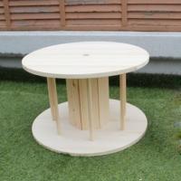 DIY FACTORY 組立て簡単!木製ドラムキット(テーブル向けサイズ) 直径:600mm 高さ:370mm|diy-tool