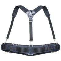 ハーネスが腰の負担を軽減、エアーメッシュサポートベルトとセットで快適に作業ができます。同じブランドの...