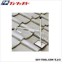 屋根勾配に合わせワンタッチ調整! 用途&使い方 瓦屋根用足場です。 瓦桟に引っ掛けて足場板を...