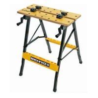【特長】 作業台・バイス・ツールラックが一体で使いやすさ抜群! 平板、角材、丸棒など色々固定できます...