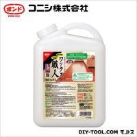 コニシ ワックス職人 木質フローリング用 4L (#04818)