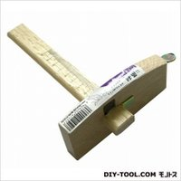 ふちと一定幅の平行線が引くことが出来る特殊鉋です。刃先を収納できる安全タイプ。ネジで定規を固定できる...