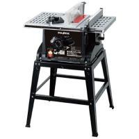 PAOCK 木工用テーブル付テーブルソー   TBS-255PA  材料を送り出すだけで木材の切断が...