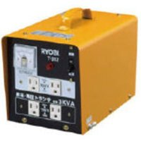 ●商品名 T-312 ●低下した電圧を15%アップ(昇圧) ●単相200Vを単相100V、115Vに...