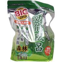 効能風呂 薬用入浴剤 森林浴の香り BIG 2Kg