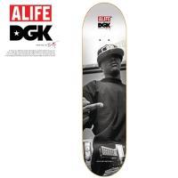 DGK×ALIFE ディージーケー エーライフ コラボ デッキ スケートボード 8.06 X 32 ...