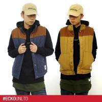 ECKOUNLTDからベスト'Field Vest'登場です。シンプルなデザインでフロント裾部分にタ...