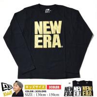 ニューエラのキッズサイズロングTシャツが入荷。定番人気のNEWERAロゴを配した間違いないアイテムで...