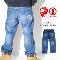 NESTABRAND(ネスタブランド)よりジーンズの登場です。 全体にダメージ加工が施された味のある...