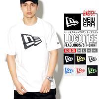 ニューエラのアパレルラインよりTシャツが登場。 人気のフラッグロゴを配した間違いないデザイン。 袖に...