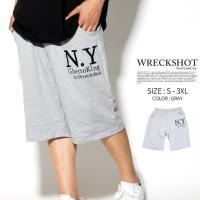 ヒップホップダンス衣装に最適なルーズフィット 大きいサイズ BIGサイズ ハーフパンツ メンズ B系...