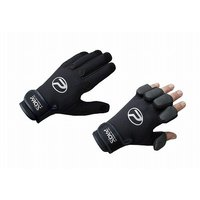 フィット感が良く防寒性が高いネオプレン製の手袋。 5本の指にスリットが付き必要な指が出せるので、餌付...