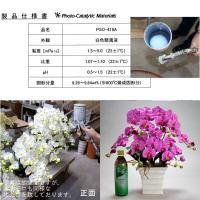 送料無料 お祝い お供えの花 仏花 フラワーギフト 光触媒胡蝶蘭小輪 3本立 バイオレット