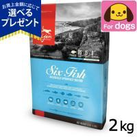オリジン ドッグフード 6フィッシュ 2kg 犬|dogparadise