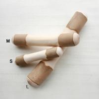 犬用天然木のおもちゃ 自然木タイプ 椿 Mサイズ 送料無料 メール便