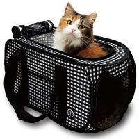 ちょっとお出かけの時に軽くて持ちやすいキャリー おとなしさのヒミツは適度な空間  ■対象:猫用 ■サ...