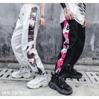 迷彩 パンツ レディース メンズ 韓国ファッション ライン ストリート系 原宿 ズボン