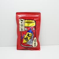 ごま唐辛子 七味唐辛子 八幡屋礒五郎七味ごま袋入 信州長野県のお土産