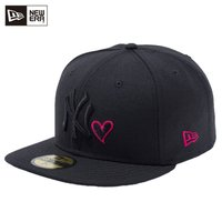 NEW ERA 59FIFTY ニューヨーク・ヤンキース with Heart  ■カラー ブラック...