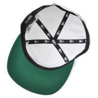 [送料無料] NEW ERA ニューエラ THE GOLFER CITY LOGO ROCAWAY NY BEACH ホワイト × ブラック [11404311] new era キャップ 帽子 スナップバック メンズ