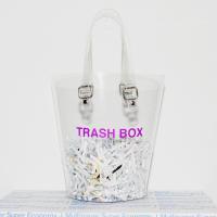 ナナナナ バッグ NaNa-NaNa NOT A TRASH BOX MEDIUM BAG CLEAR メンズ レディース カバン