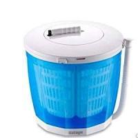 ●商品情報 電気を使わず洗濯! 水を抜いて回せば脱水も可能。ハンドルを手で回せば1回転につき内側のか...