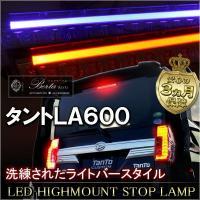 適合車種 タント  適合型式 LA600  適合年式 H25.10〜  カラー  レッドレンズ × ...