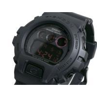 カシオ CASIO Gショック G-SHOCK 腕時計 メンズ マットブラック レッドアイ DW69...