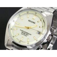 シチズン CITIZEN レグノ REGUNO 電波 ソーラー 腕時計 メンズ RS25-0341H...
