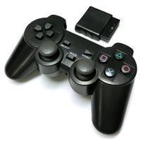 PS2 ワイヤレスコントローラー プレステ2 (2.4GHz接続)互換 無線コントローラー