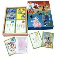 あすつく  百人一首 かるた 古事記かるた  子供向け 日本地図パズル付 知育玩具 大石天狗堂 dragon-bee