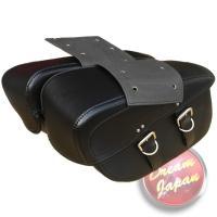 ■アメリカンライダー御用達!サイドバッグ!!  ■ハーレーから国産まで幅広い車種に取り付け可能なサイ...