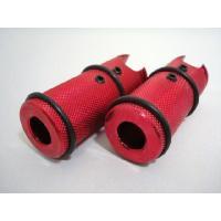 ◆アルミ削り出しの汎用ステップバーです。(2個セット) ◆簡単に取付けができ、手軽にカスタムが可能で...