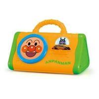 アンパンマン うちの子天才 よくばりさんかく打楽器  持ち運びが便利なビジー楽器です。 太鼓・シンバ...