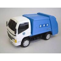 フリクション走行の清掃車です。 後部が開閉します。 玩具安全基準合格  サイズ:H175mm×W30...
