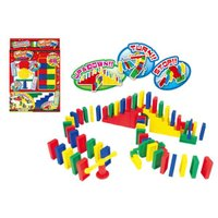 チャレンジドミノ  ドミノ遊びに、階段やストップバーなど、遊びが盛りだくさんです。  商品サイズ:1...