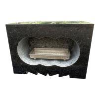 ■商品名: 「香炉」 ■商品: 角型香炉 国産黒御影石 浮金石 ■サイズ:  幅約30.5センチ 高...