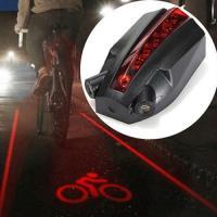 ・夜に自転車に乗る人の安全を守ります ・レーザー平行線+ロゴマークランプ ・防水タイプで、雨の日も装...