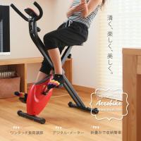 ■折畳み式マグネットエアロバイク! ■テレビを見ながら簡単エクササイズ! ■効果的な有酸素運動が出来...