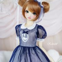 ◆Swan Lake Navy(60cm) ※紺色◆ ドール お洋服 1/3 60cm 女性用 ワン...