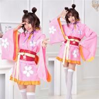■ポイント アニメキャラ風のセットアップ着物ミニドレスです。  イベント衣装はこのセットアップ着物ミ...