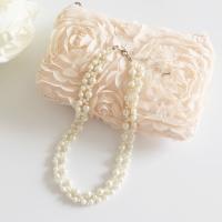 ネックレス 結婚式 パール ビジュー ロングネックレス 首飾り お呼ばれ  ◆ お届け ◆ 【ネコポ...