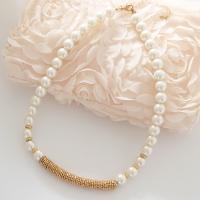 ネックレス 結婚式 パール ビジュー ショート 首飾り Necklace お呼ばれ  ◆ お届け ◆...