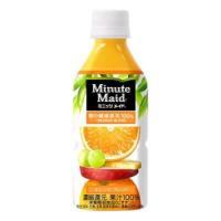 【コカ・コーラ直送品】Minute Maid ミニッツメイド 朝の健康果実 オレンジ・ブレンド  PET 350ml×24本|drinkman|02