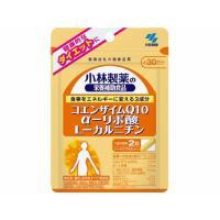 【メール便対応商品】 小林 コエンザイムQ10 αリポ酸 Lカルニチン 60粒 【代引不可】