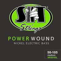 PowerWoundニッケルプレーテッド弦は、最優良グレードの米国産メタルと米国産へクスコア(6角芯...