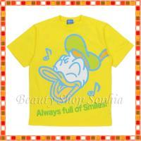 13561b3059202 ドナルドダック Tシャツ(130、140、150cm) スマイルウェーブズシリーズ ディズニー グッズ お土産(東京ディズニーリゾート限定) ディズニー