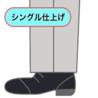 「代引き不可」 裾上げ 靴滑り付シングル仕上げ・ダブル仕上げモーニングカットジーンズ仕上げ