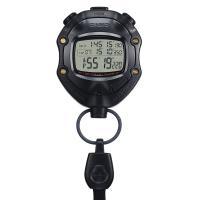 5気圧防水機能 ストップウオッチ(1/1000秒計測、10時間計(通常計測、ラップ・スプリット計測、...